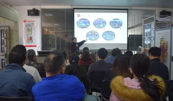 商用技术系组织开展教师教学能力大赛公开课